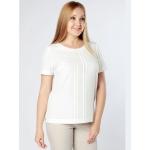 Блузка Ванесса а50 шелк цвет белый