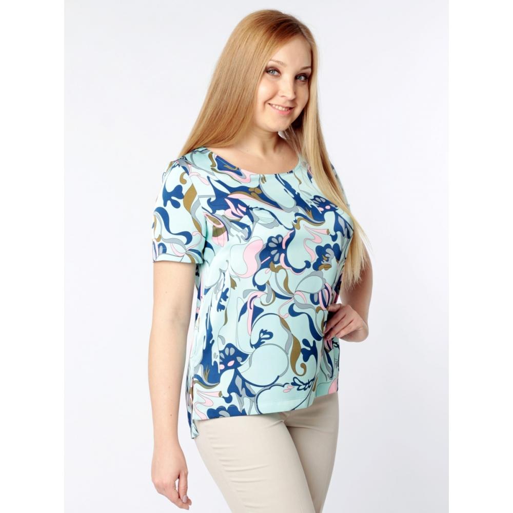 Блузка Соната №2 б59 вискоза цвет голубой