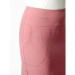 Юбка Долли №9 а84 лен цвет розовый