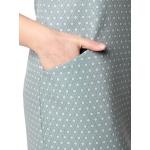 Платье ОЛИВИЯ вискоза цвет оливковый