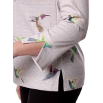 Блуза РЭНА №5 г15 вискоза цвет мультиколор