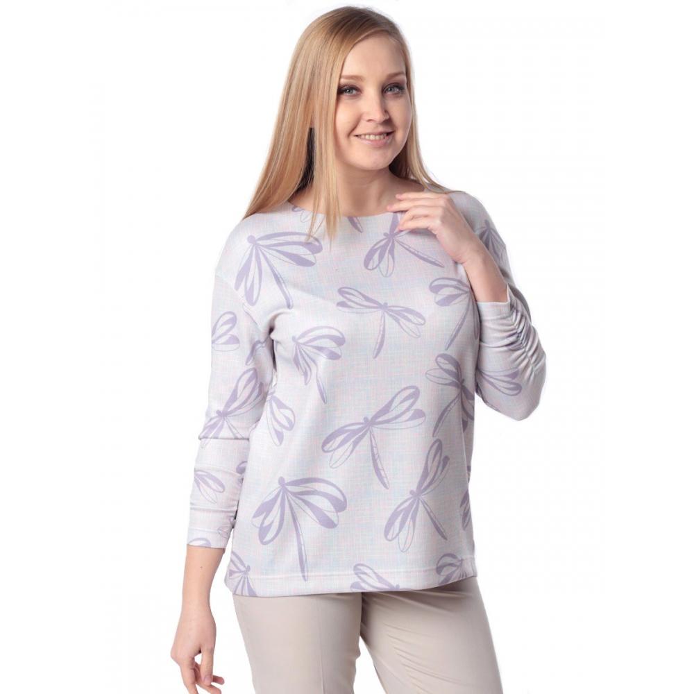 Блуза МИЧЕЛЛ г17 вискоза цвет сиреневый