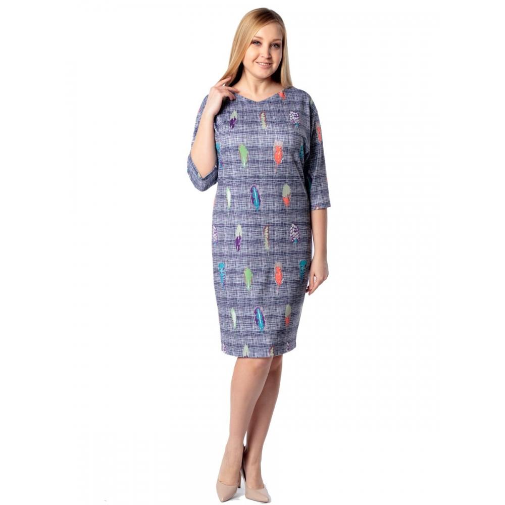 Платье Эмми г21 вискоза цвет мультиколор
