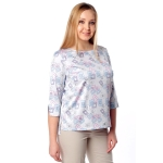 Блуза ТОРИ г23 вискоза цвет жемчужный