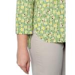 Блузка Ария №2 г25 вискоза цвет зеленый