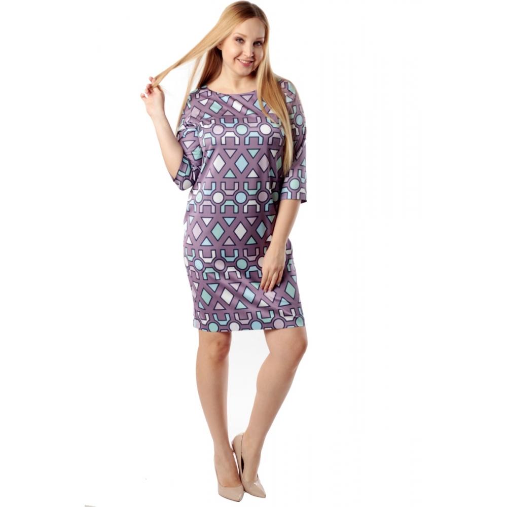 Платье СЬЮЗИ г07 вискоза цвет сиреневый