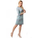 Платье СЬЮЗИ г41 вискоза цвет оливковый