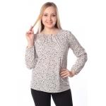 Блузка ЛУСИЯ г43 вискоза цвет кофейный