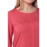 Блузка ТАНИТА №2 г49 вискоза цвет коралловый