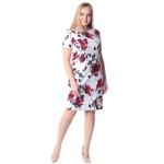 Платье Ева №2 б63 хлопок цвет красный