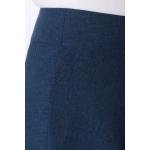 Юбка Анисия №2 а79 лен цвет темно-синий
