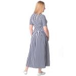 Платье Дэя г88 вискоза цвет синий