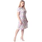 Платье Розита и02 вискоза цвет серый