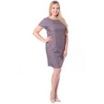 Платье Луиза №3 бб14 вискоза цвет какао