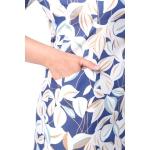 Платье ОНИКС №2 бб21 хлопок цвет голубой