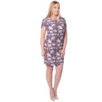 Платье САБРИНА №3 г61 вискоза цвет серый