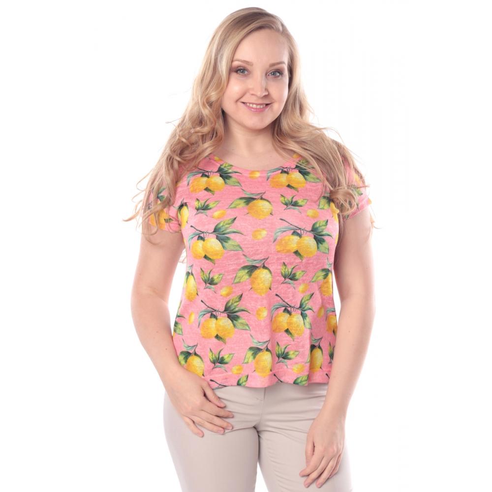 Блуза ЦИТРОН г95 вискоза цвет розовый