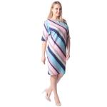 Платье Глория №5 г97 вискоза цвет разноцветный