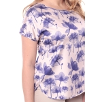 Блузка ЛИЛЯ г98 вискоза цвет бежевый