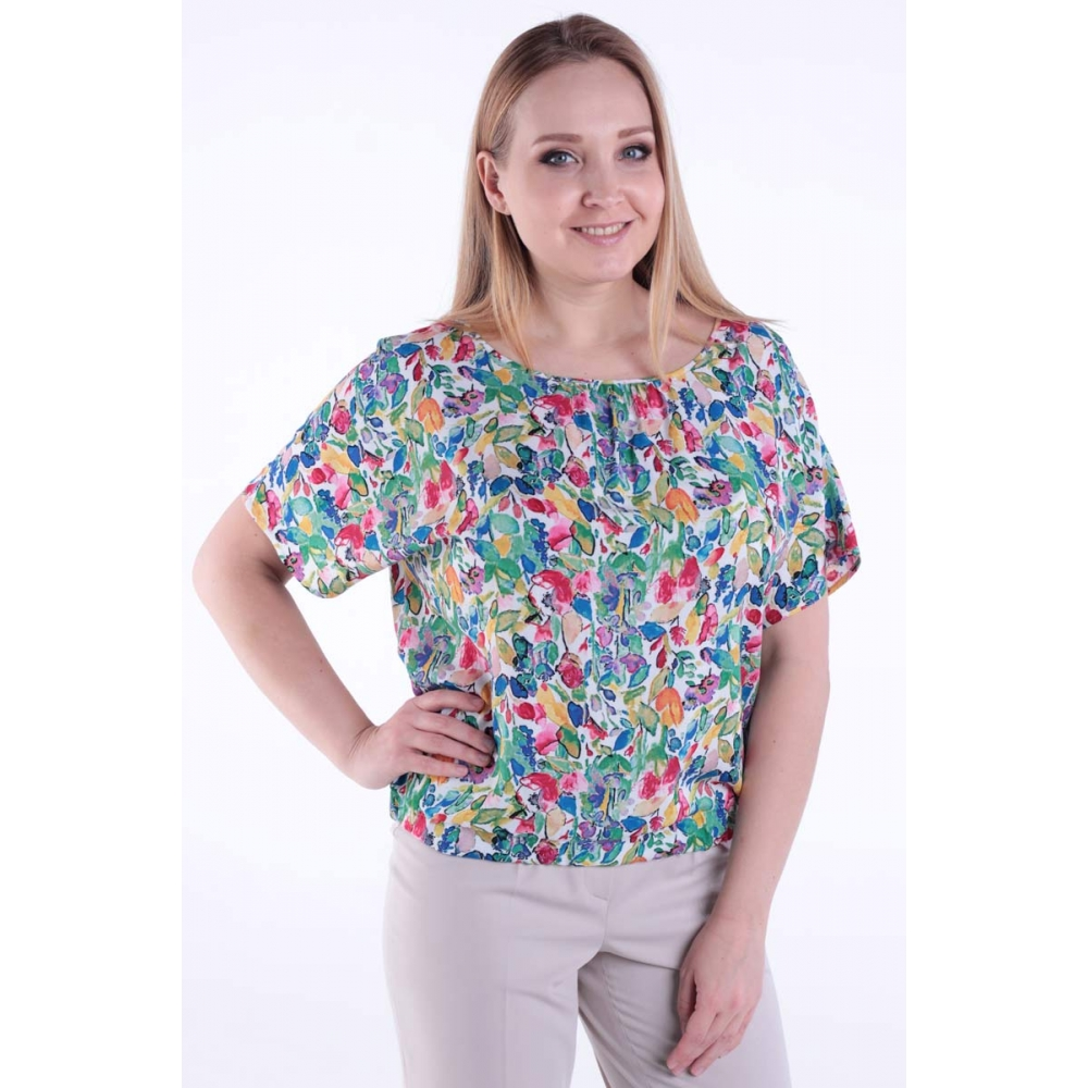 Блуза Серенада №2 бг47 зеленый