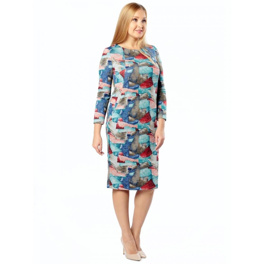 Платье ЛУРДЕС в62 вискоза цвет бирюза