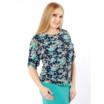 Блузка Тома №9 вискоза цвет мультиколор