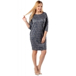 Платье Манон №5 г03 вискоза цвет графит