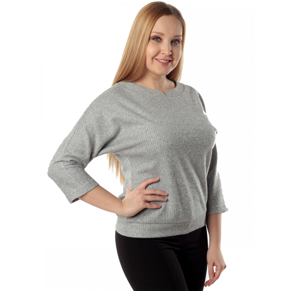 Блузка ОРНЕЛЛА №2 а4 вискоза цвет серый