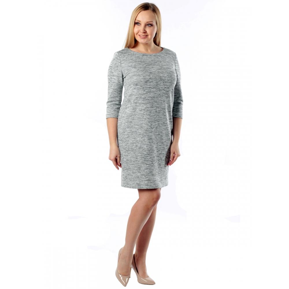 Платье Каталина №2 а4 вискоза цвет серый