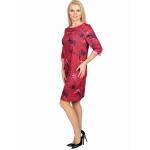 Платье Даяна №2 в91 вискоза цвет красный