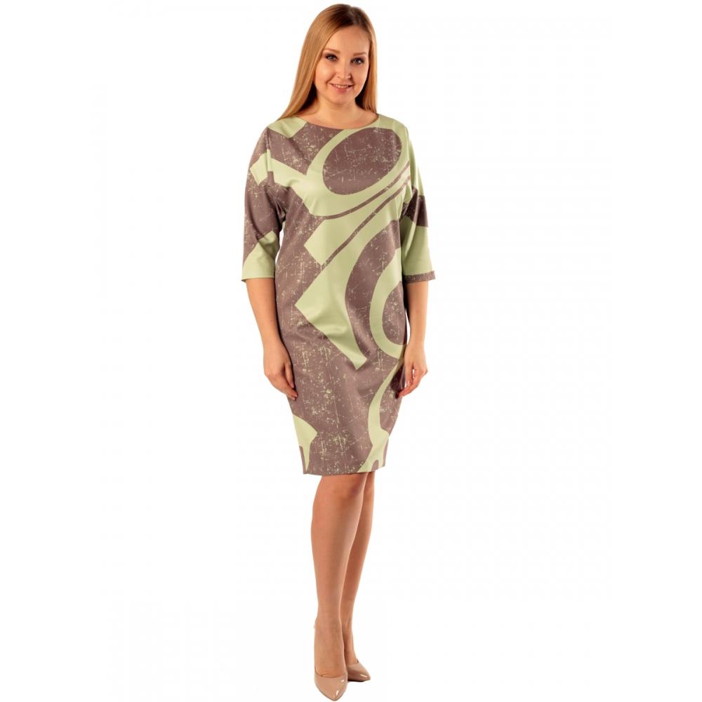 Платье Глория в97 вискоза цвет мультиколор