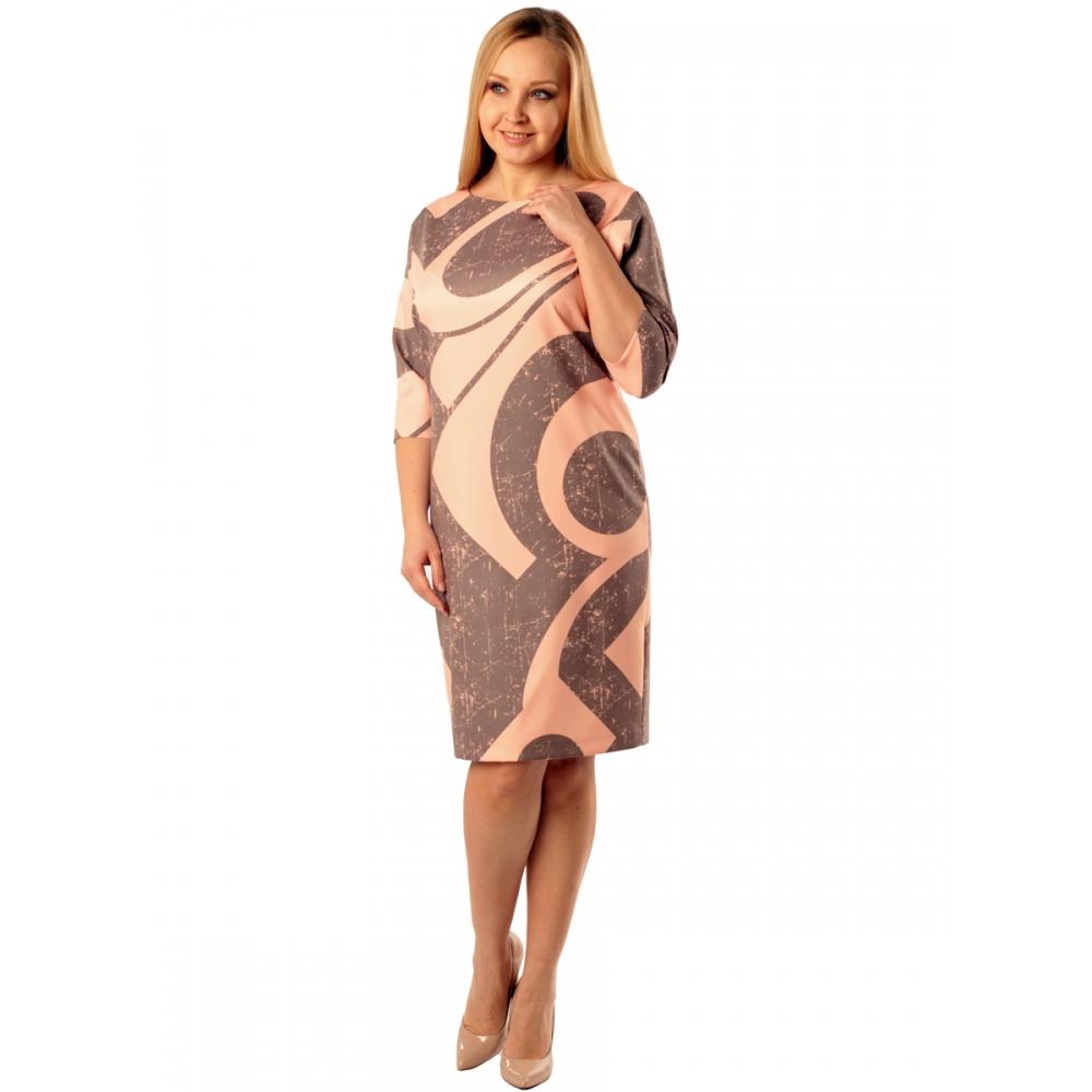 Платье Глория в98 вискоза цвет мультиколор