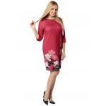Платье АЗУРИТА в88 вискоза цвет малиновый