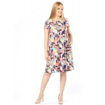 Платье Армель б57 вискоза цвет мультиколор