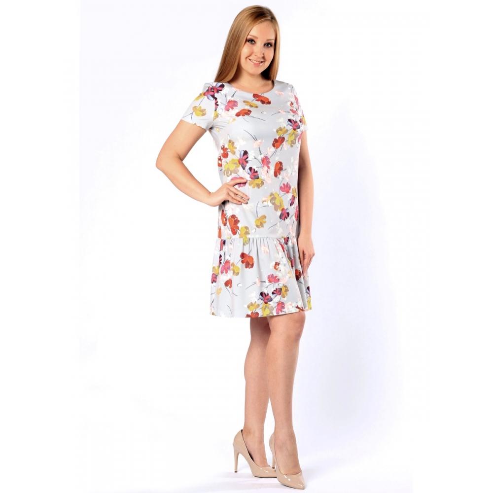 Платье Эдит вискоза цвет мультиколор