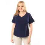 Блузка Амалия №2 поливискозный шелк цвет молочный, синий, кофейный