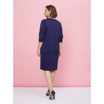 JADO Платье 220-02-02 синее