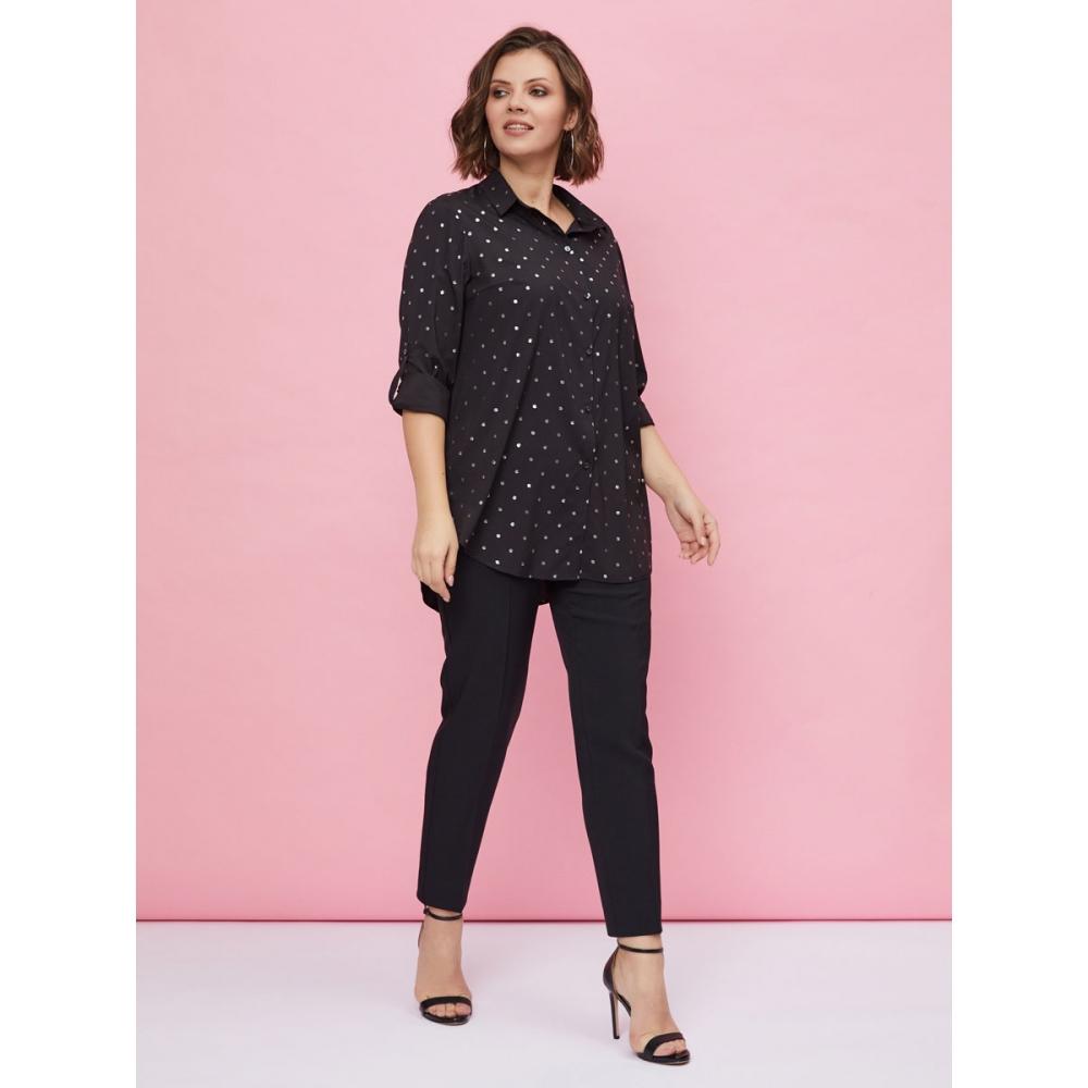 JADO Блуза 220-01-01 черная