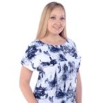 Платье ЛАРА бб29 вискоза цвет белый