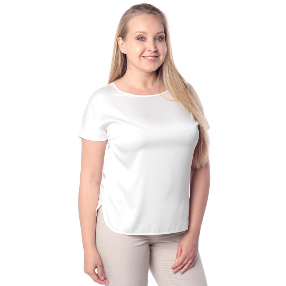 Блузка ЛИЛЯ №2 а43 вискоза цвет молочный