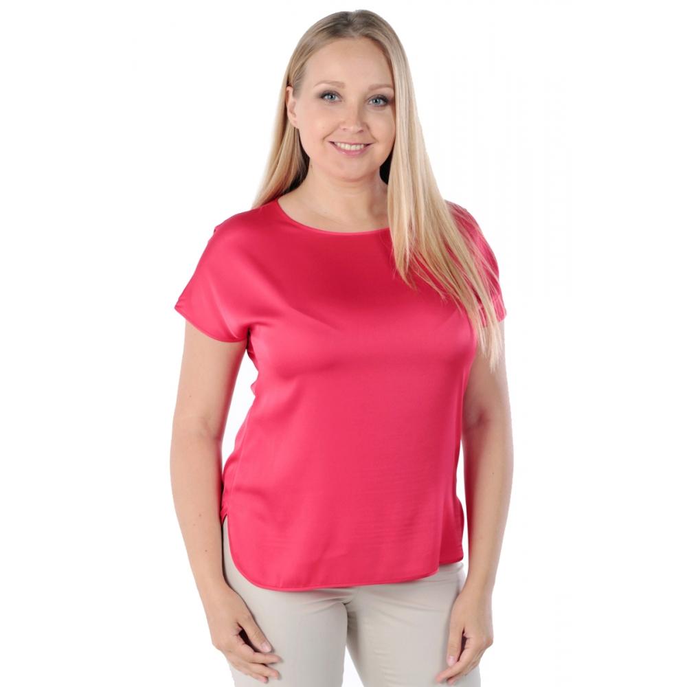 Блузка ЛИЛЯ №2 а55 вискоза цвет красный