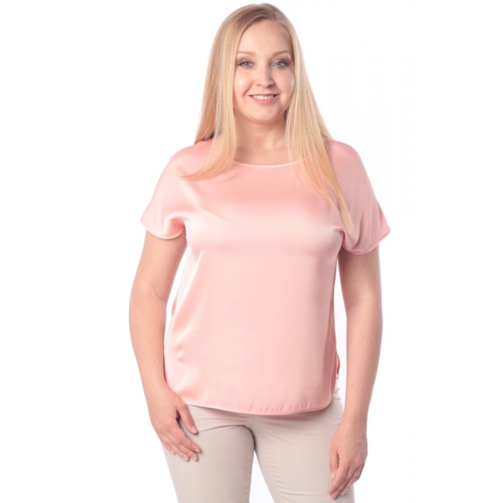Блузка ЛИЛЯ №2 а84 вискоза цвет розовый