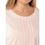 Блузка ВАНЕССА №2 а15 шелк цвет пудровый