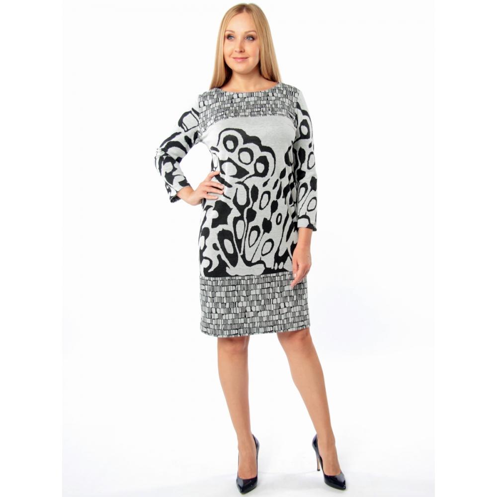 Платье Бриджит вискоза цвет серый