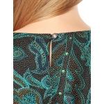 Блузка Колет б93 хлопок цвет зеленый