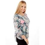 Блузка Ария б96 вискоза цвет мультиколор