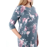 Платье Рондо №2 с22 вискоза цвет мультиколор