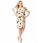 Платье Одри б17 вискоза цвет мультиколор