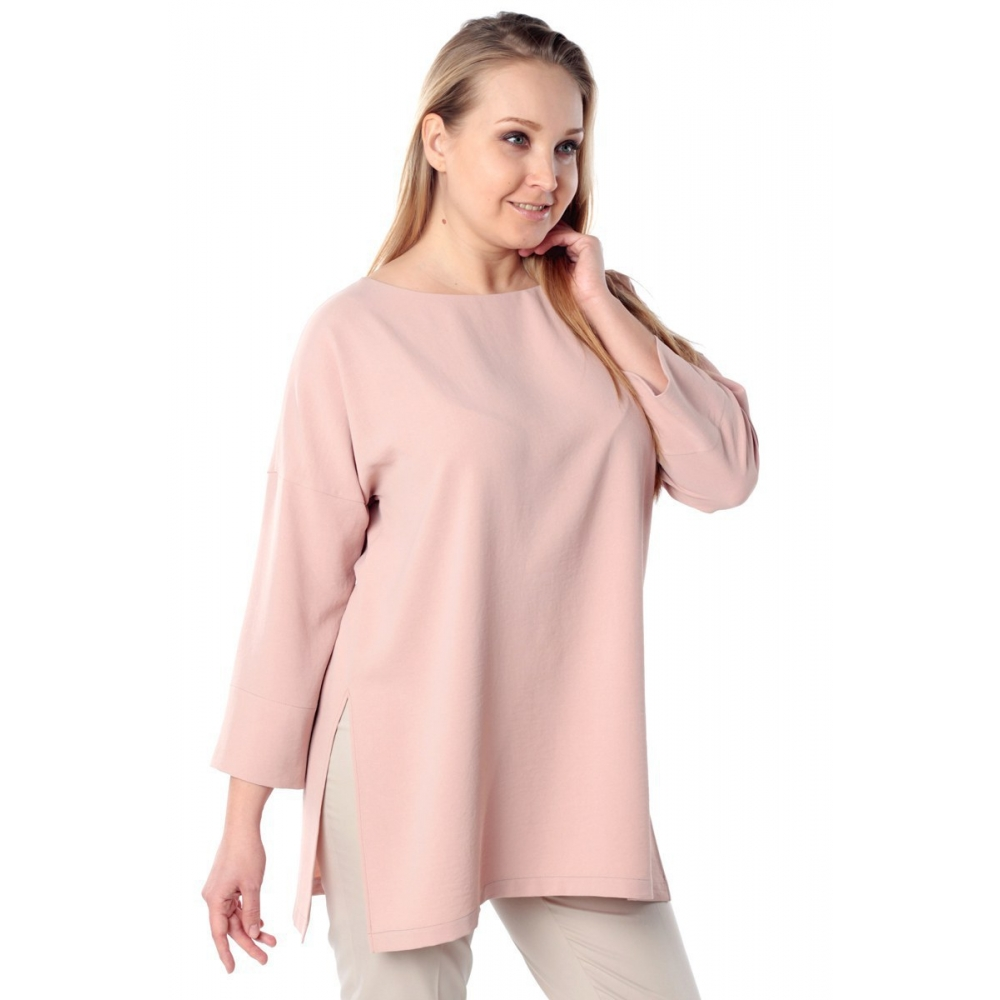 Блуза МУЗА №2 а15 вискоза цвет пудра