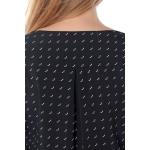 Блузка ТАНИТА г48 вискоза цвет черный
